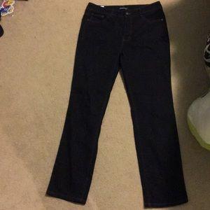Bandolino Caroline dark wash jeans